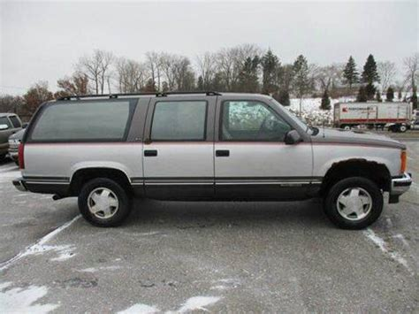 how to sell used cars 1993 gmc suburban 2500 spare parts catalogs 1993 gmc suburban for sale 27 used cars from 695