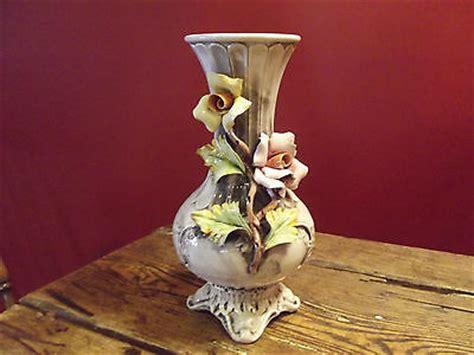 Capodimonte Vase Prices by Capodimonte Vase Made In Italy Antique Price Guide
