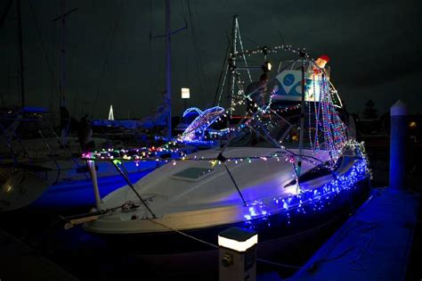 float your boat lake macquarie lake lit up for festival launch photos newcastle herald