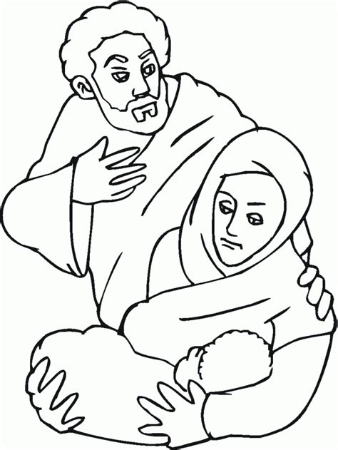 printable coloring pages holy family holy family coloring pages coloring home