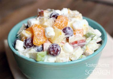 5 fruit salad recipe fruit salad with mini marshmallows