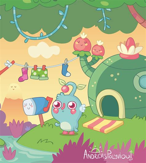 moshi monster moshling design  behance