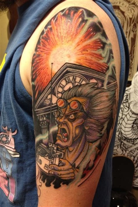 back to the future tattoo back to the future back to the future