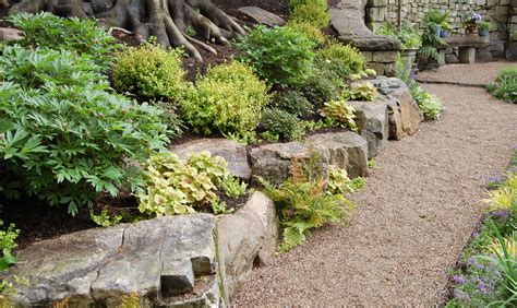 gardens with rocks landscape rock design modern home exteriors