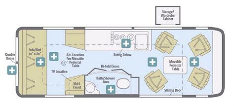 cing trailer floor plans winnebago rv floor plans 2017 winnebago era 170x cing