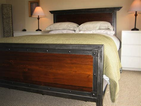 made bed handmade iron queen size bed by desiron custom metal