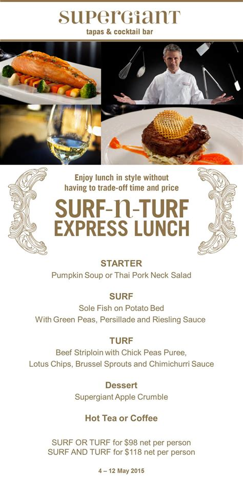 turf room lunch menu supergiant s day specials mira moon hotel