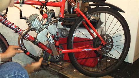 80cc Muffler by 80cc Motorized Bicycle Muffler Mod Fix Exhaust Repair