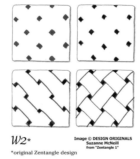 zentangle pattern directions links to online instructions for drawing the zentangle