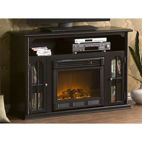 Sei Electric Fireplace by Sei 174 Tilman Media Console With Electric Fireplace 200799