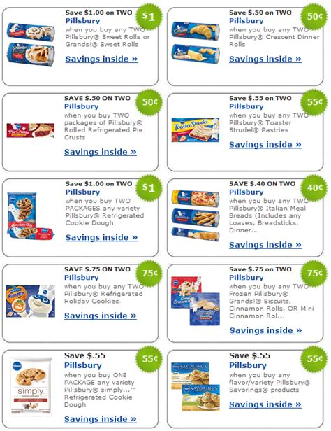 printable grocery coupons in usa top brands pillsbury coupons broward living broward