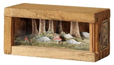 tiny in a box wonderful miniature paper art in wooden boxes 3 fubiz media