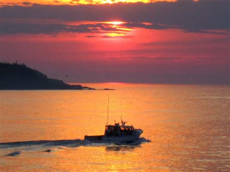 lobster boat wallpaper downeast maine sunrise photos