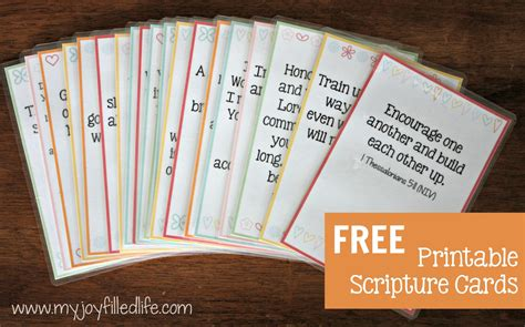 cards for hide em in your scripture cards free printable