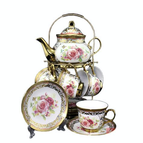 a for all time tea set european classic bone china tea set titanium wedding