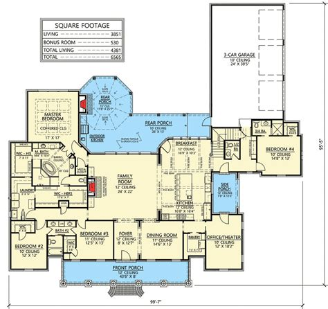 acadian house plans with bonus room luxurious acadian house plan with optional bonus room