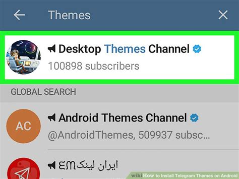 themes for android install how to install telegram themes on android 8 steps with