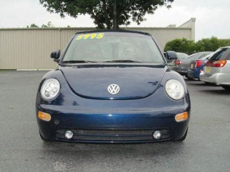used volkswagen beetle 5000 1999 volkswagen beetle gls for sale in wilmington nc