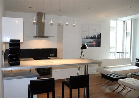 small modern apartments modern small apartment in black and white best home news