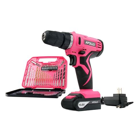 apollo tools 10 8 volt lithium ion 3 8 in cordless drill