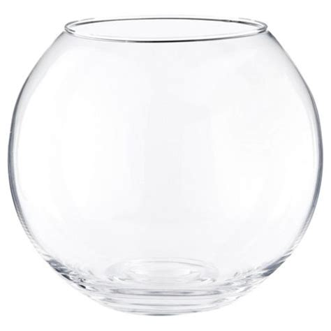 Glass Vases And Bowls Buy Small Glass Bowl Vase From Our Vases Bowls Range Tesco
