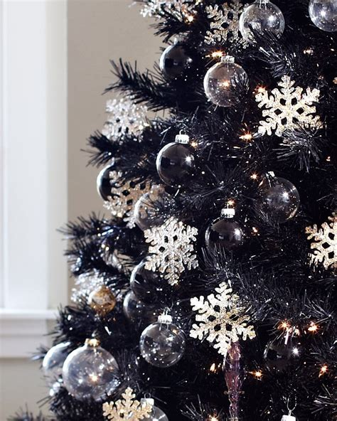 tuxedo black artificial christmas tree treetopia