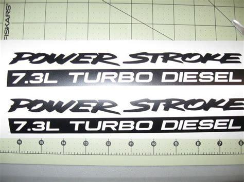 Powerstroke Diesel Stickers