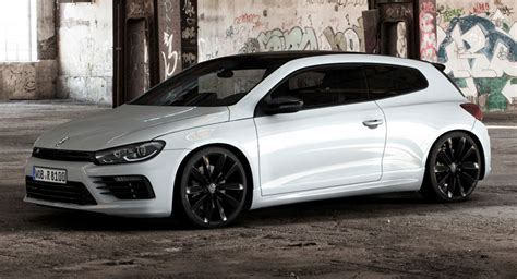 volkswagen scirocco 2016 white vw freshens scirocco r with black style pack