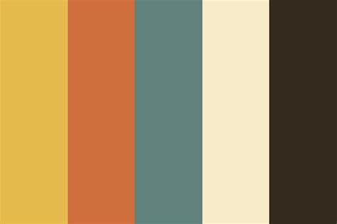 rock colors rock and roll color palette