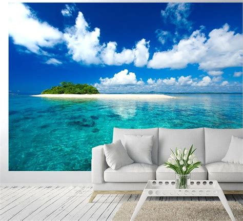 tropical wall tropical island vacation paradise wallpaper murals by nicewall