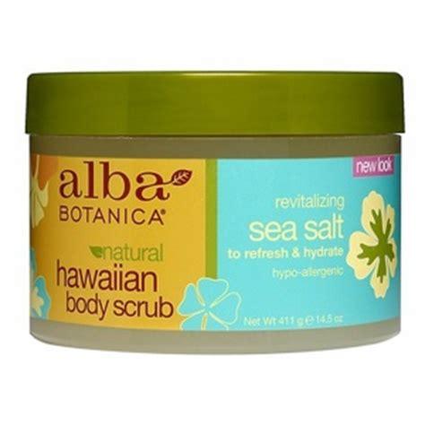 Alba Hawaiian Detox Scrub Review by Alba Botanica Hawaiian Scrub Revitalizing Sea Salt