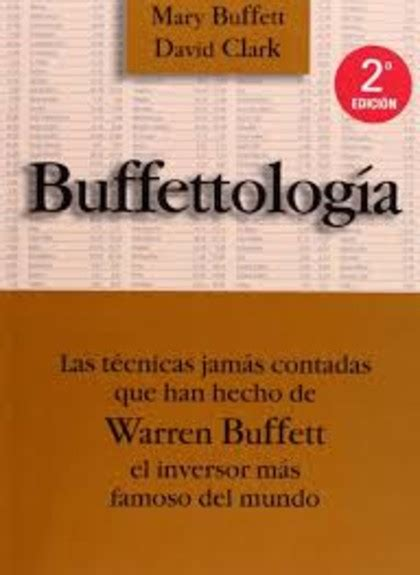 buffettologia las tecnicas jamas 8480885505 10 libros imprescindibles sobre value investing