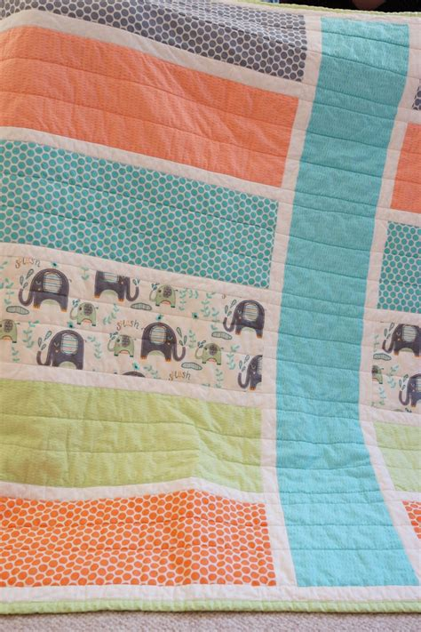 Quilt Patterns Simple by Lo Me Easy Baby Quilt