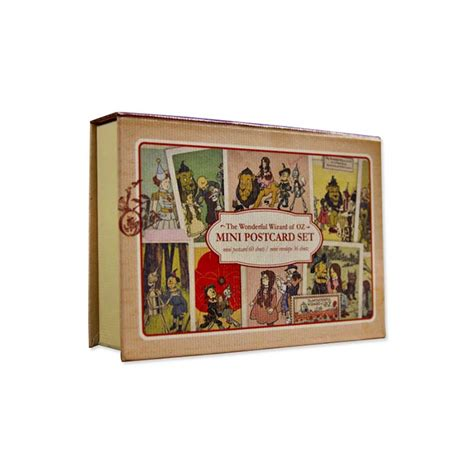 the wizard of oz mini postcard set