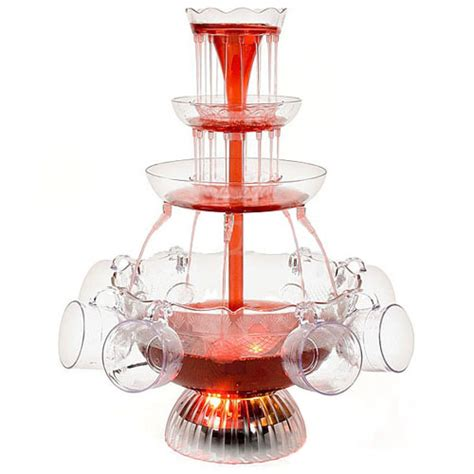 Nostalgia Lighted Punch Beverage Set by Nostalgia Electric Lpf 210 Lighted Wedding Punch Chagne