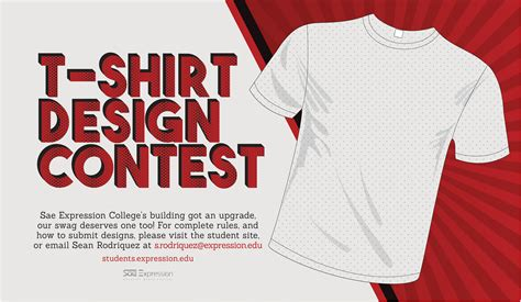 design contest t shirt sae expression students 187 t shirt design contest