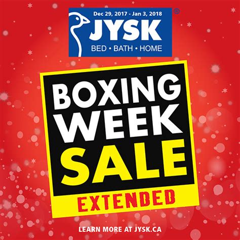 boxing day sofa sales jysk boxing day canada