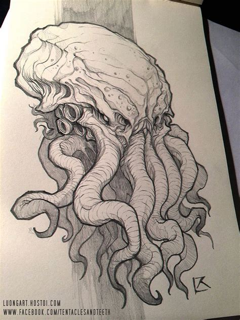 tattoo tribal vol 64 image result for cthulhu statue tattoo design cool art