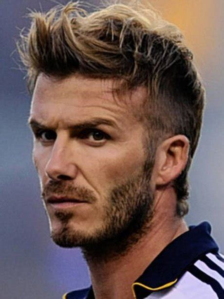 David Beckhams Softer Side by 7 Side Crop Top The Top Ten Hairstyles For