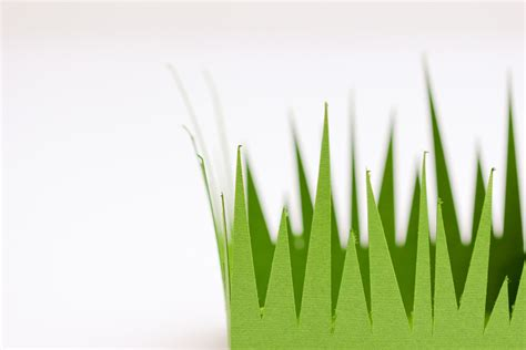 How To Make Paper Grass - grass paper boxes free cut files