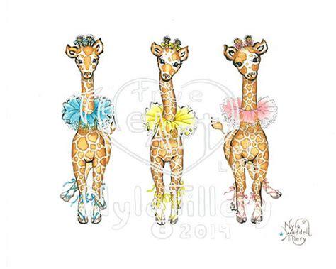 Moschino Giraffe Print Ballerina Slipper by