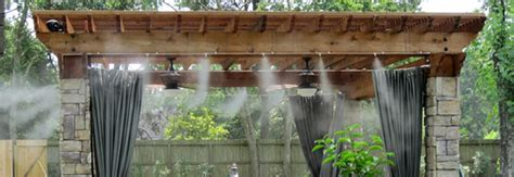 Diy Patio Misting System Patio Misting Systems Water Misters Outdoor Misting Systems