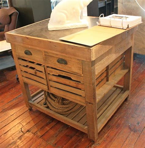 pine kitchen islands belaney rustic lodge honey pine wood blue stone 37 inch