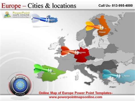 möbel böhm map of europe powerpoint templates