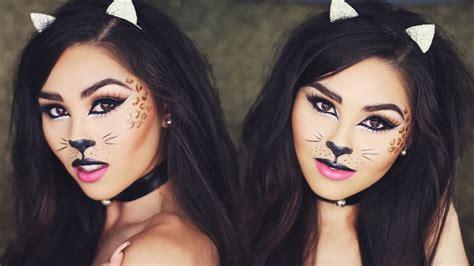 cat makeup tutorial halloween cat makeup tutorial roxette arisa youtube