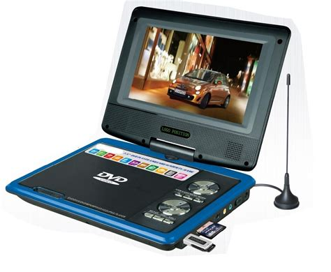 Usb Player Untuk Tv 7 inch portable dvd player with dvd tv fm usb ce rohs with 3d function pd718d malanzs