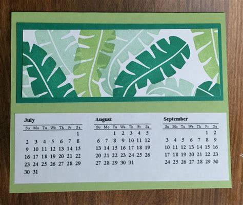 Handmade Calendar - handmade calendar gift idea karentitus