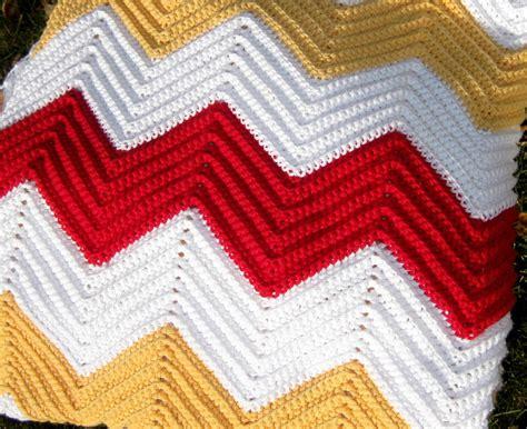Chevron Pattern In Crochet | chevron crochet baby blanket tutorial my crochet