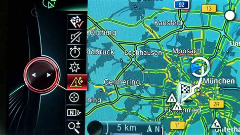 bmw connecteddrive rtti real time traffic information