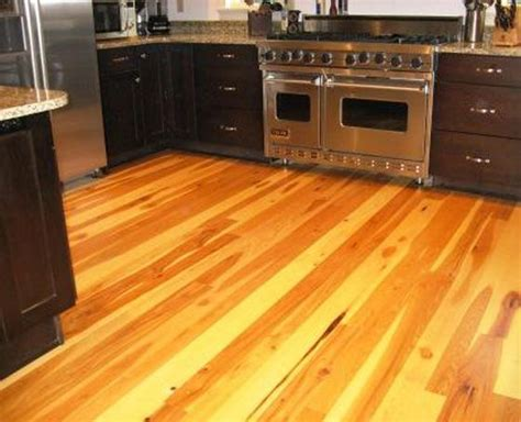 gray floors with hickory cabinets wide plank hickory flooring gurus floor